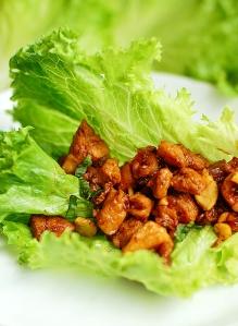 cashew-chicken-lettuce-wraps