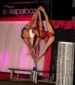 Jenny Goodwin & Polina Vinogradova at Sexapalooza