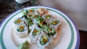veggie-maki-roll