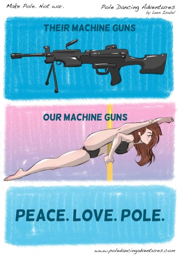 By Leen Isabel @ www.poledanceadventures.com